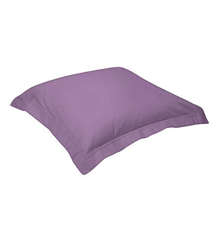 YVES DELORME Triomphe square pillowcase 65x65cm (Bruyere