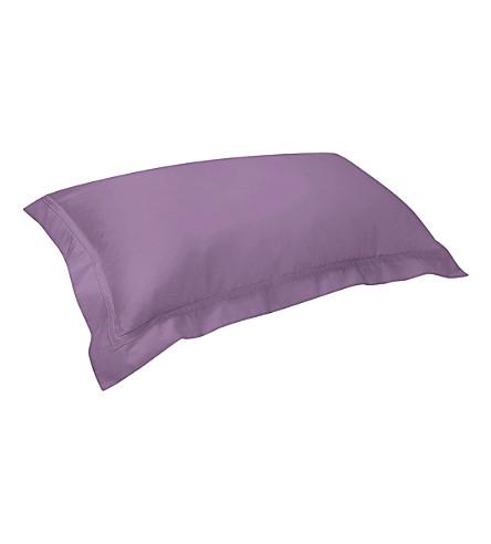 YVES DELORME Triomphe king pillowcase 50x90cm (Bruyere