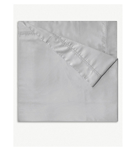 YVES DELORME Triomphe cotton duvet cover (Silver