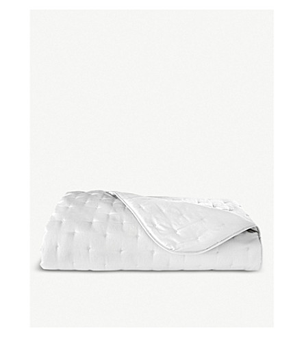 YVES DELORME Triomphe bed cover (Blanc