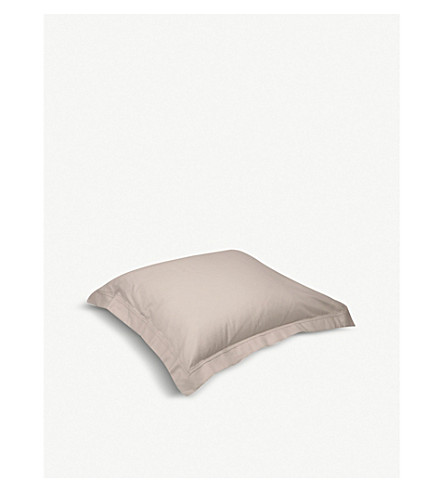 YVES DELORME Triomphe cotton pillowcase 65cm x 65cm (Pierre