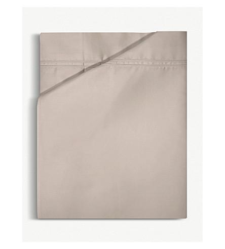 YVES DELORME Triomphe cotton single flat sheet (Pierre