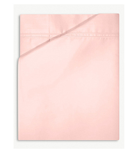YVES DELORME Triomphe cotton duvet cover (Blush