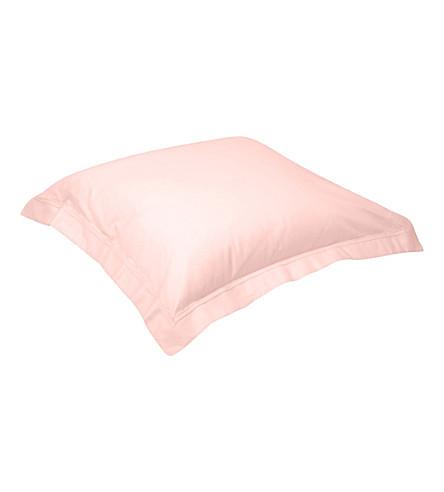 YVES DELORME Triomphe square pillowcase 65x65cm (Blush