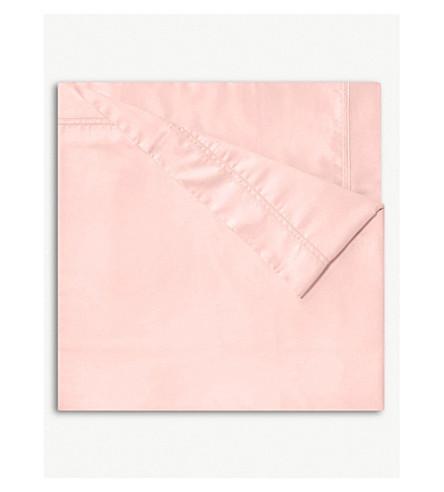 YVES DELORME Triomphe flat sheet (Blush