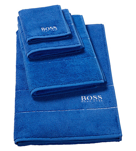 BOSS Plain egyptian cotton towel (Touareg