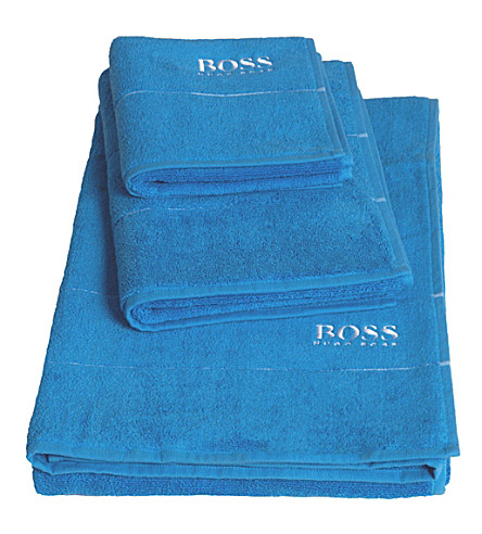 BOSS Plain egyptian cotton towel (Pool