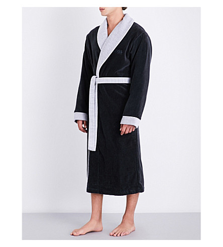 BOSS Lord Kimono dressing gown (Onyx