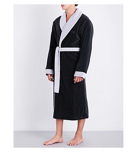 BOSS Lord Kimono robe (Onyx