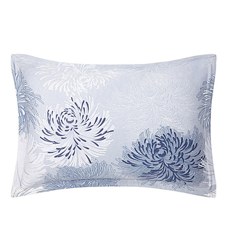 BOSS Spring Rain stone standard cotton-sateen pillowcase (Stone
