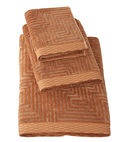 BOSS Unity Flame cotton-terry bath towel (Flame
