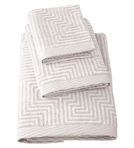 BOSS Unity Concrete cotton-terry bath towel (Concrete
