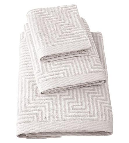 BOSS Unity Concrete cotton-terry bath towel (Concrete