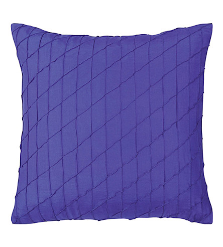 BOSS Ray Blue silk cushion cover (Blue