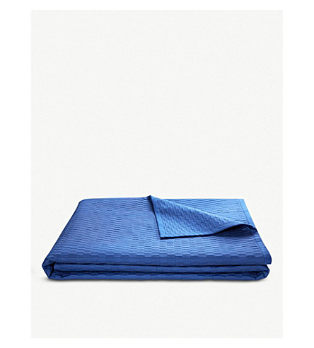 BOSS Loft cotton bed cover throw (Abyss