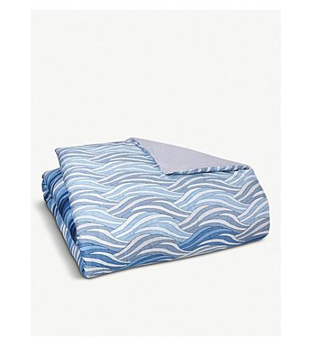 BOSS Oceanwaves cotton duvet cover (Sand