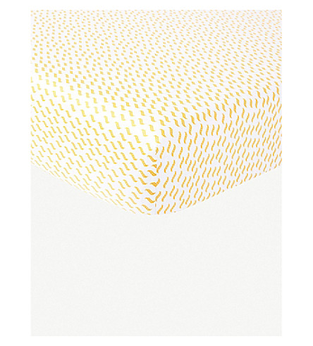 KENZO Floral fitted sheet 180x200cm (Multi