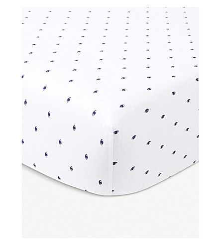 KENZO Signe double fitted sheet (Multi