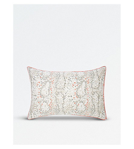 KENZO Snake cotton sateen pillow case (Multi
