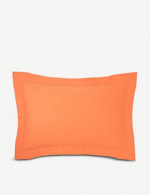 BOSS壁橱橙色棉枕套 30x50cm