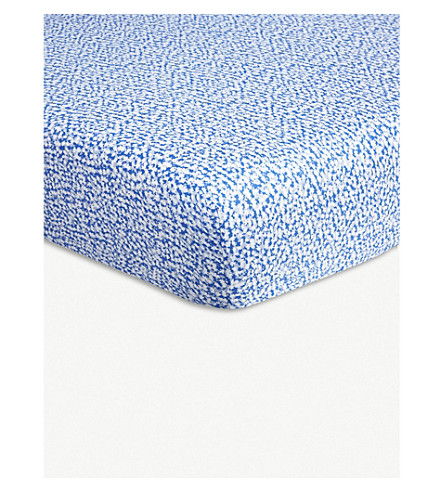 BOSS Belvedere cotton single fitted sheets (Horizon