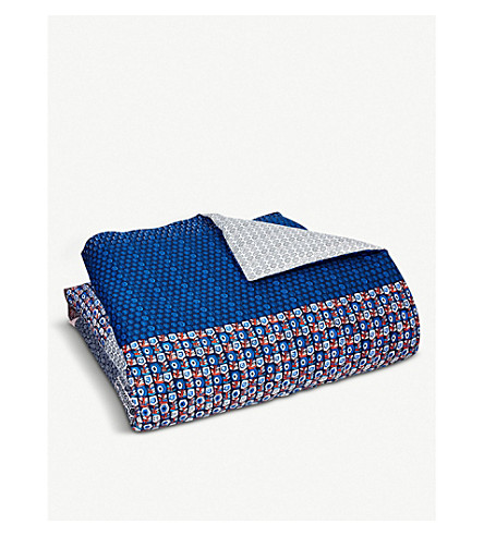 BOSS Clyde cotton king duvet cover (Multi
