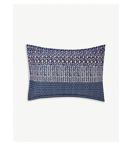 BOSS Clyde printed cotton pillowcase 75cm x 50cm (Multi