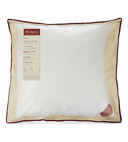 BRINKHAUS Bauschi®-Lux baffle edge continental square pillow