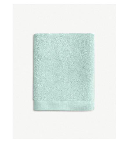 YVES DELORME Étoile Celadon cotton bath sheet (Celadon
