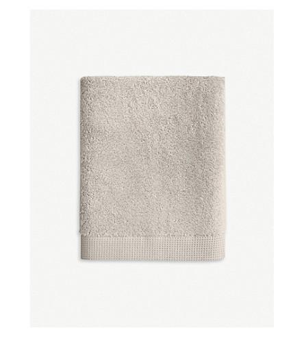 YVES DELORME Étoile cotton bath towel 140cm x 70cm (Pierre