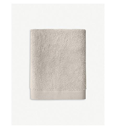 YVES DELORME Étoile cotton hand towel 100cm x 55cm (Pierre