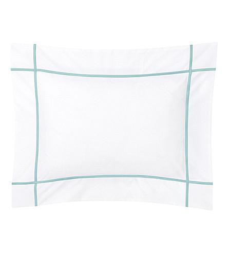 YVES DELORME Athena boudoir pillowcase 30x40cm (Celadon