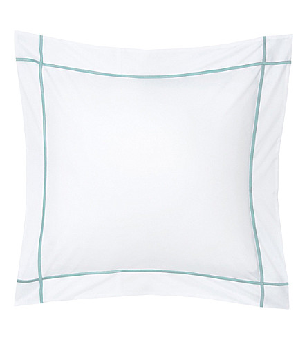 YVES DELORME Athena square pillowcase 65x65cm (Celadon