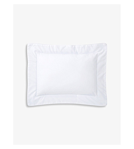 YVES DELORME Flandre cotton pillowcase 21cm x 32cm (Blanc