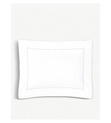 YVES DELORME Flandre cotton pillowcase 21cm x 32cm (Silver