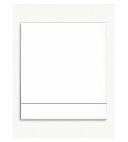 YVES DELORME Flandre super king flat sheet 270 x 295 cm (Platine