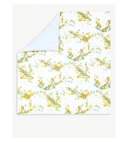 YVES DELORME Lucine Egyptian cotton king duvet cover (Multi