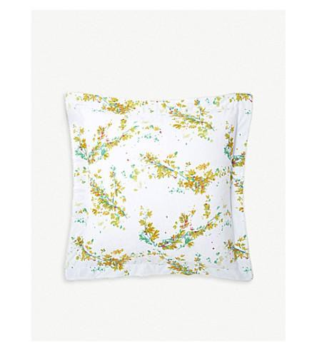 YVES DELORME Lucine cotton pillowcase 65x65cm (Multi
