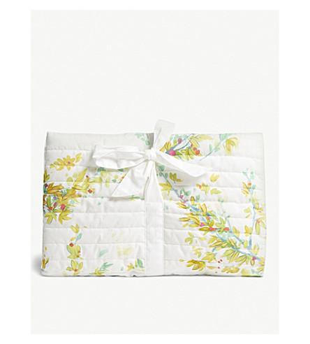 YVES DELORME Lucine floral-print cotton lingerie pouch (Multi