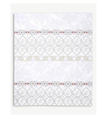 YVES DELORME Palatin Egyptian-cotton flat sheet (Nacre