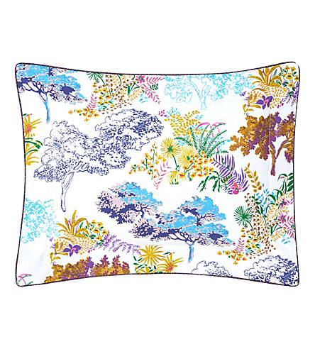 YVES DELORME Paysage boudoir pillowcase (Multi