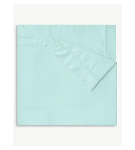 YVES DELORME Triomphe celadon single duvet cover 140x200cm (Celadon