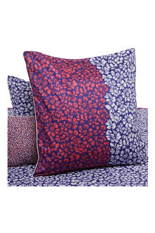 KENZO Blue Bay Outremer square pillowcase