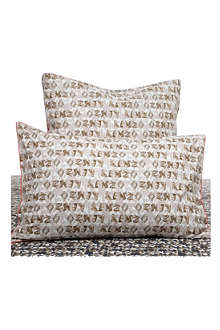 KENZO Felin Naturel standard pillowcase