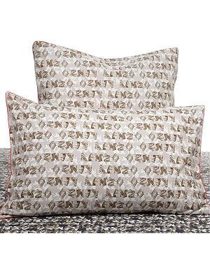 KENZO Felin Naturel standard pillowcase