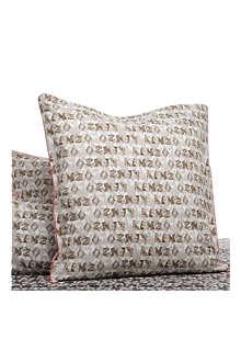 KENZO Felin Naturel square pillowcase