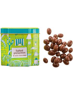 ARTISAN DU CHOCOLAT Milk Chocolate Salted Pistachios 125g