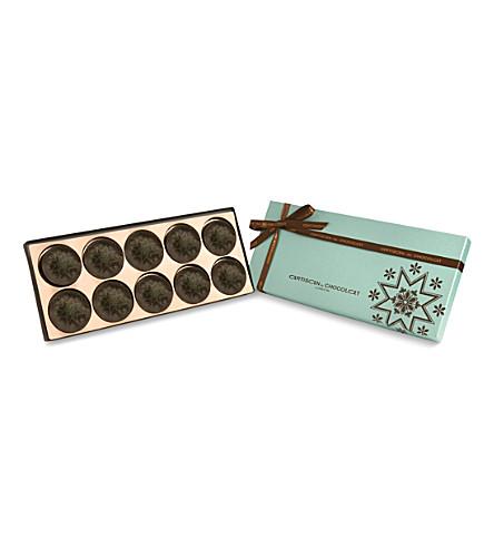 ARTISAN DU CHOCOLAT Dark Chocolate Fresh Mint O's 130g
