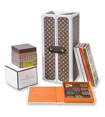 ARTISAN DU CHOCOLAT Praise Monogram chocolate hamper 500g