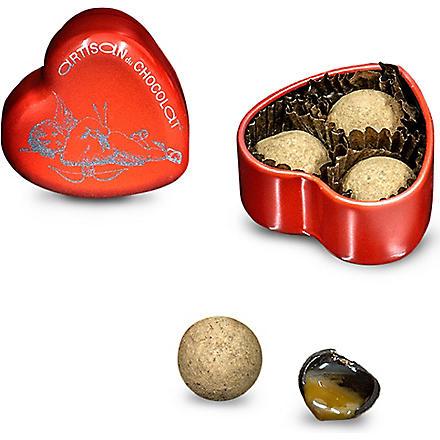 ARTISAN DU CHOCOLAT Tease Me salted caramel tin 15g